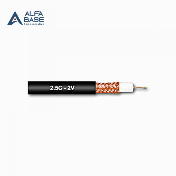Coaxial Cable 2.5C 2V